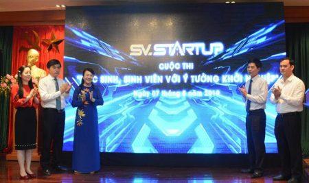 Phát động cuộc thi HSSV với ý tưởng khởi nghiệp năm 2019