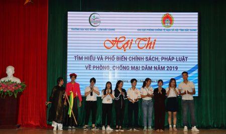 Học sinh Trường THPT Thân Nhân Trung sôi nổi Hội thi tìm hiểu và phổ biến chính sách, pháp luật về phòng chống mại dâm năm 2019