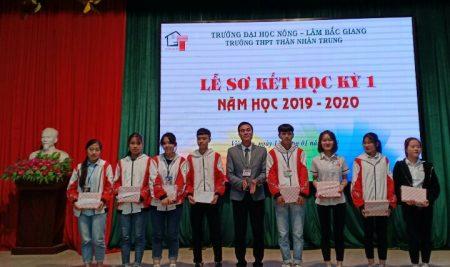 Lễ sơ kết học kỳ I Năm học 2019 – 2020