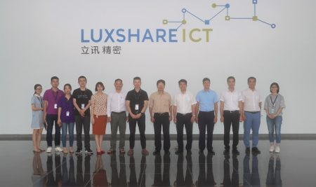 Lễ ký thỏa thuận hợp tác giữa Nhà trường và Công ty TNHH LUXSHARE ICT (Vân Trung)