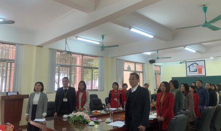 Hội nghị viên chức năm 2020 Trường THPT Thân Nhân Trung