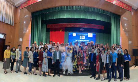 Ngày hội Đoàn viên 26/3/2021 tại Trường THPT Thân Nhân Trung.